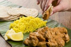 Masło kurczak Rice & cytryna Fotografia Stock