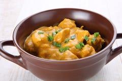 Masło kurczaka curry Zdjęcia Royalty Free