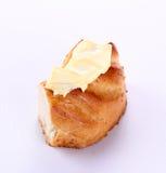Masło z chlebem Zdjęcia Royalty Free