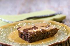 Masła orzechowego i czekolady punkty Zdjęcie Royalty Free