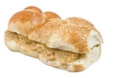 Masła orzechowego sandwitch Zdjęcia Stock