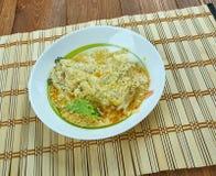 Mas riha. Fish curry of the Maldivian cuisine Stock Image