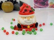 Mas-smoothie för ` x i s-jultomtenkopp, Royaltyfri Foto