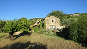 Mas Villa dichtbij Gordes Luberon Frankrijk Royalty-vrije Stock Foto