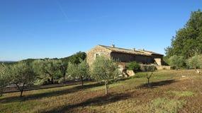 Mas Villa dichtbij Gordes Luberon Frankrijk Stock Afbeeldingen