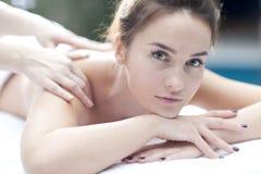 masaż Fotografia Royalty Free