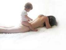 masaż. fotografia royalty free