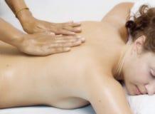 masaż. obraz stock
