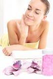 masaż głowy Fotografia Stock