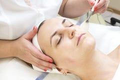 Masaż i twarzowe łupy Zdjęcie Royalty Free