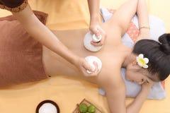 Masaż i zdrój: Tajlandzki masaż Zdjęcia Royalty Free