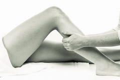 masaż nóg obraz royalty free