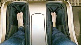 Masaż nogi Obrazy Royalty Free