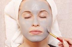 masaż twarzy zdjęcia royalty free