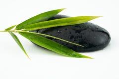 Masażu czerni i wyposażenia kamienie zdjęcia royalty free