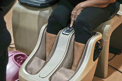 Masażu krzesło Zdjęcie Stock
