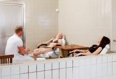 masażu nożny zdrój Fotografia Stock