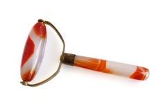 Masażu przyrząd gemstone kornaliny agat Fotografia Stock