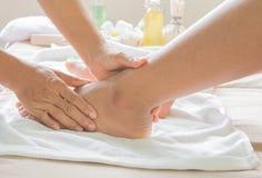 Masażu relaks i terapia obraz stock