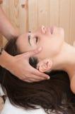 masażu relaksująca zdroju kobieta Zdjęcie Royalty Free