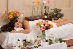 masażu skincare zdrój Zdjęcie Royalty Free