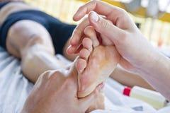 masaży zamknięty zamknięci cieki Zdjęcie Stock