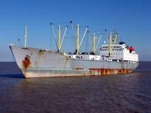 masa ładunku, rejs rejsów przewoźnika statku wody Obrazy Stock