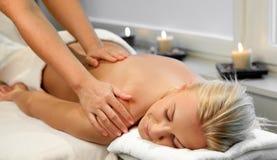 masaż Zdjęcia Royalty Free