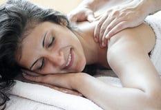 masaż Obraz Stock