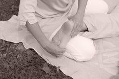 masaż. Zdjęcia Stock