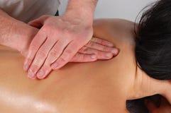 masaż. Zdjęcie Stock