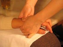 masaż. Obrazy Stock