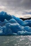 Masa de hielo flotante de hielo Imagenes de archivo