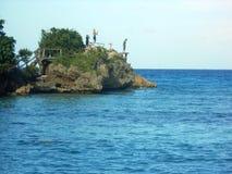 Masa de la roca del mar imágenes de archivo libres de regalías