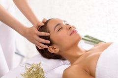 masaż głowy Obraz Stock