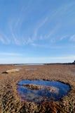 masa patagonii przypływ. Obrazy Stock