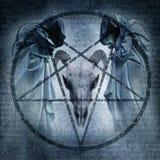 Masa satánica ilustración del vector