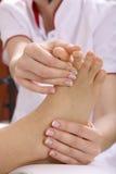 masaż stóp Zdjęcie Royalty Free