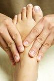 masaż stóp Obrazy Stock
