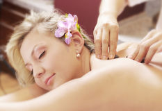 masaż tajlandzki Zdjęcie Stock