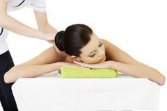 Masaż terapia Zdjęcie Royalty Free