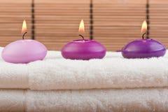 masażu (1) bambusowy zdrój Fotografia Royalty Free
