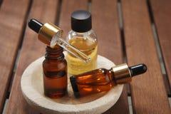 Masażu olej Obrazy Stock