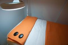Masażu pokój Zdjęcia Royalty Free