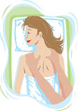 masażu target1086_0_ Obraz Stock