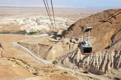 Masada堡垒以色列 免版税库存图片