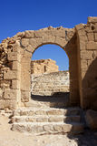 Masada,以色列 库存照片