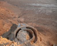 Masada Ισραήλ Στοκ Εικόνα