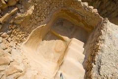 Masada в Израиле Стоковое Изображение