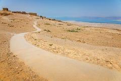 Masada в Израиле стоковое изображение rf